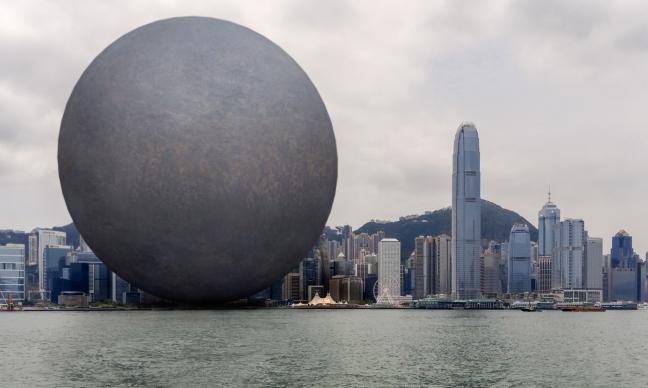 张增增 作品 work of Zhang Zengzeng 维多利亚港 Victoria Harbor 增强现实摄影 AR Photo 2015